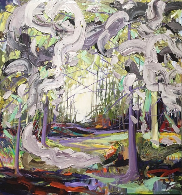 , 'Into the Woods,' 2016, Galerie Bloom