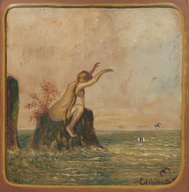 , 'Untitled (Love Bather),' 1917, Michael Rosenfeld Gallery