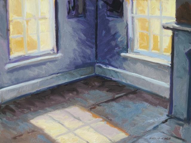 , 'Sun in an Empty Room Blue,' , Edward Hopper House