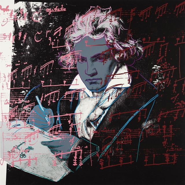 Andy Warhol, 'Beethoven', 1987, Print, Screenprint in colors on Lenox Museum Board, Zeit Contemporary Art