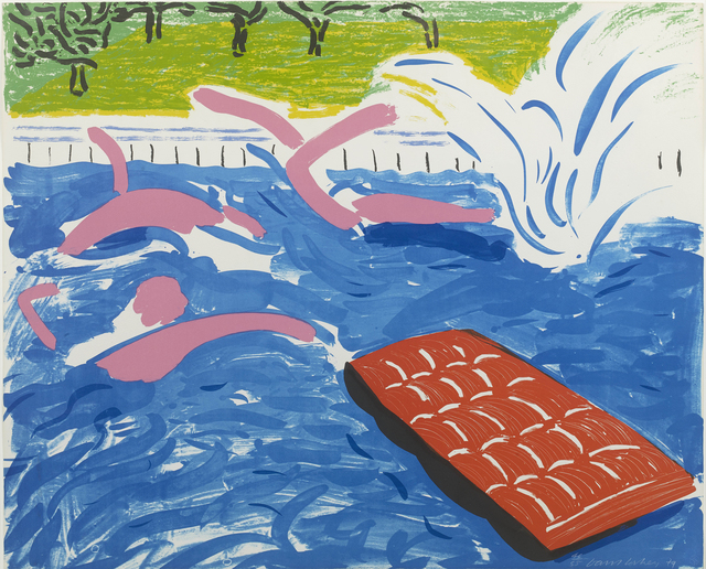 , 'Afternoon Swimming,' 1979, ARCHEUS/POST-MODERN