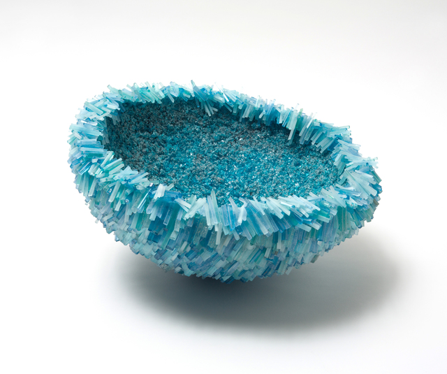 , 'COPPER BLUE SEA URCHIN BOWL      ,' 2016, Heller Gallery