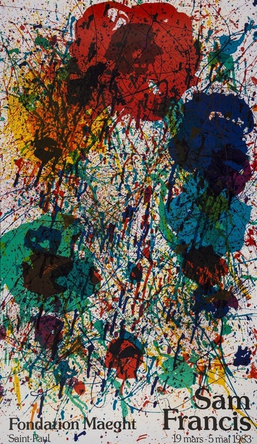 Sam Francis, 'Sam Francis Fondation Maeght (Lembark L262; Maeght F58)', 1983, Forum Auctions