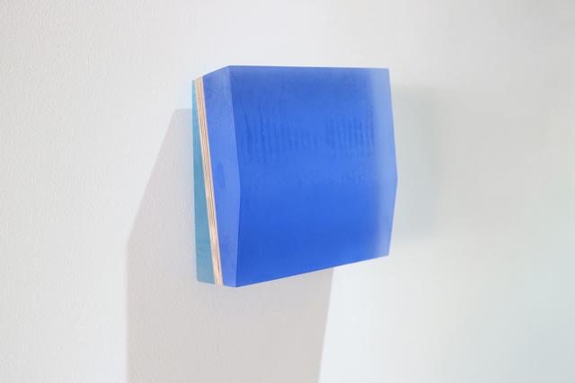 , 'South East Ledge Cobalt,' 2018, bo.lee gallery