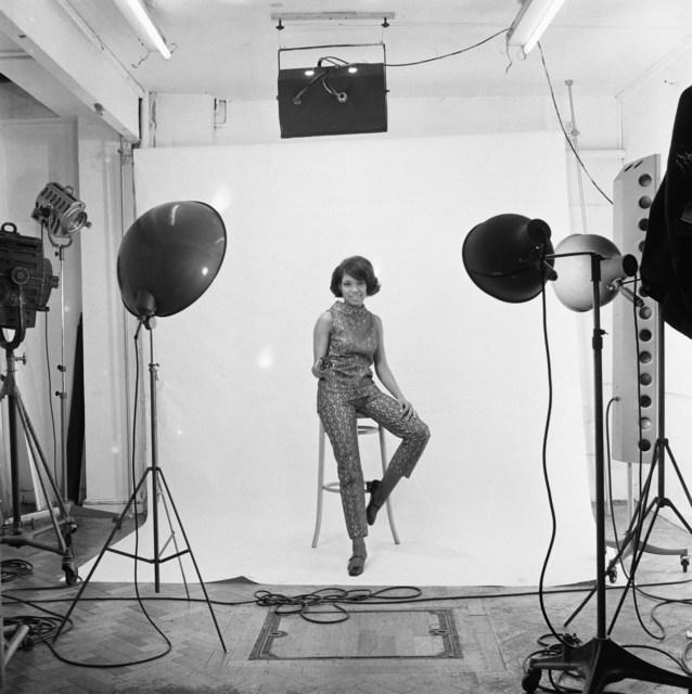 , 'Erlin Ibreck photoshoot at Campbell-Drayton Studio in Gray's Inn road, London, c. 1966-1967,' 2019, Galerie Clémentine de la Féronnière