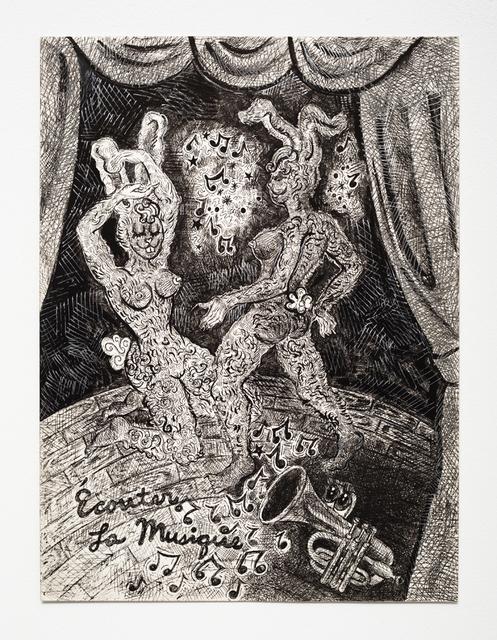 , 'Ecouter La Musique,' 2013, Jeff Bailey Gallery