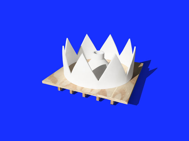 , 'Large Crown 01, Instant Double,' 2017, Corkin Gallery