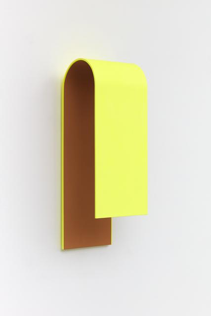Lisa Williamson, 'Gleam', 2021, Sculpture, Flashe and microbeads on primed aluminum, Tanya Bonakdar Gallery
