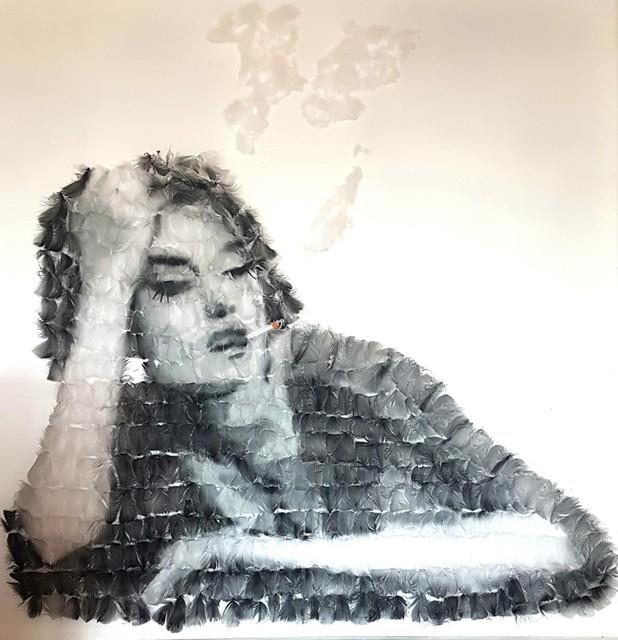 , 'When the Smoke Descends,' 2019, Quantum Contemporary Art