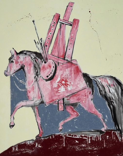 , 'Ein geschundener Gaul (A Flogged Horse),' 2016, Marlborough London