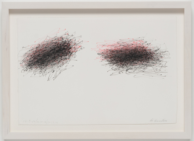 , 'Untitled (Subway Drawing, 10.9.10/10.10.10/10.28.10),' 2010, Ghebaly Gallery