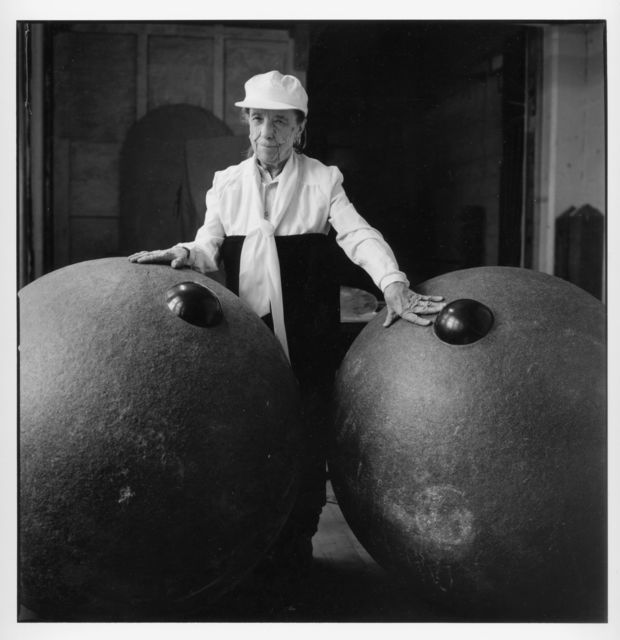 Jean-François Jaussaud, 'Louise Bourgeois, Brooklyn, 1995  Nos Amis Photographic Print', France-1995, Photography, Gelatin silver print on Baryté paper, with a reclaimed wormy chestnut frame, Maison Gerard