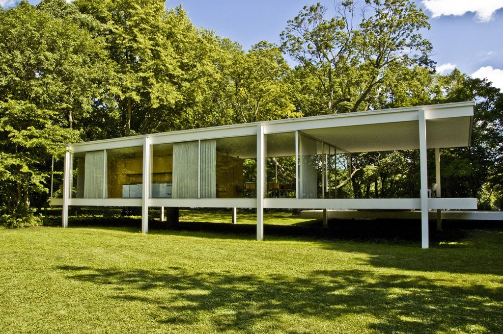ludwig mies van der rohe farnsworth house 1946 1950 artsy. Black Bedroom Furniture Sets. Home Design Ideas