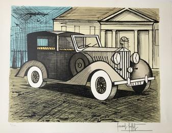 Rolls Royce grise
