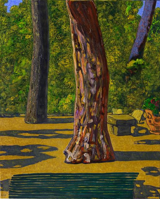 , 'Le matin dans le jardin,' 2016, La Forest Divonne