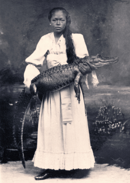 , 'Lady with Crocodile (Mardijker Photo Studio),' 2017, Mizuma Art Gallery