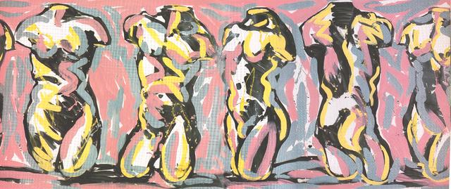 , 'Friso Rosa (Pink Frieze),' 1985, Cosmocosa