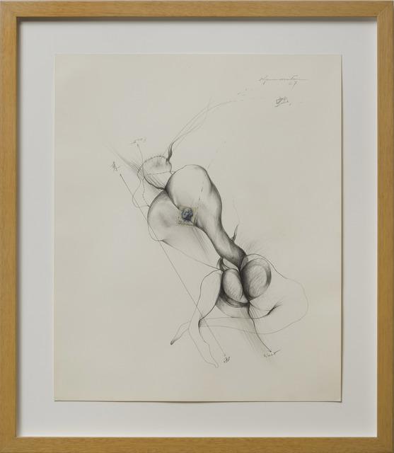 Matsumi Kanemitsu, 'Untitled (East-West)', 1967, Louis Stern Fine Arts