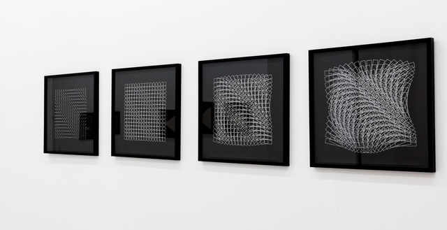 , '256 Striche / Quadrate / Lange Rechtecke / Rechtecke,' 1982, DAM Gallery