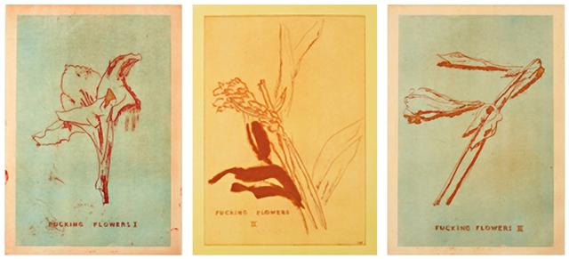 , 'Fucking Flowers I, II, III,,' 2009, Carolina Nitsch Contemporary Art