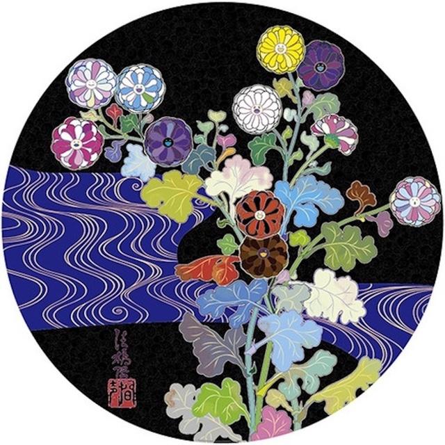 Takashi Murakami, 'Korin:  Azure River', 2015, michael lisi / contemporary art