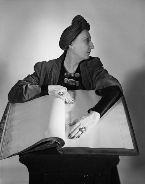 , 'Edith Sitwell, New York,' 1948, Bernheimer Fine Art