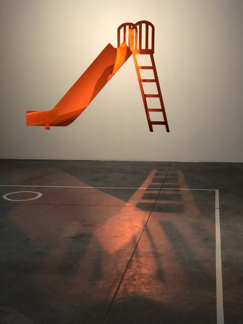 , 'Red Slide,' 2017, Robert Kananaj Gallery