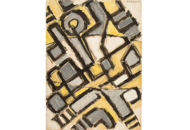 , 'Composición en Diagonal III ,' 1956, KLEUR