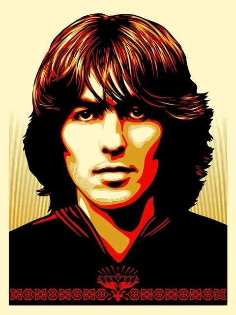 Shepard Fairey, 'Poster for George, red version', 2014, DIGARD AUCTION
