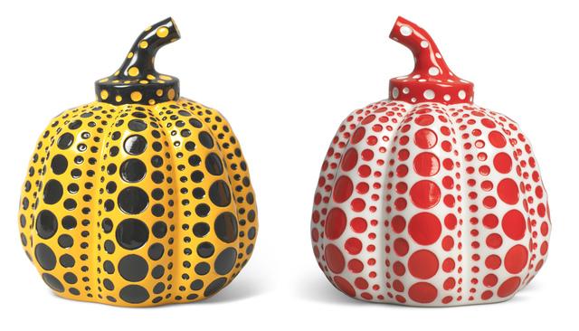 Yayoi Kusama, 'Kusama Pumpkins Set', 2015, Sculpture, Resin, Gin Huang Gallery