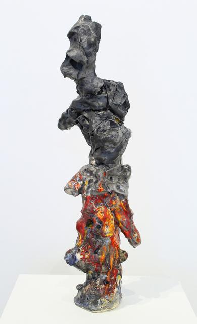 , 'PushMoon2, Figures with Shadows 2,' 2016, James Harris Gallery