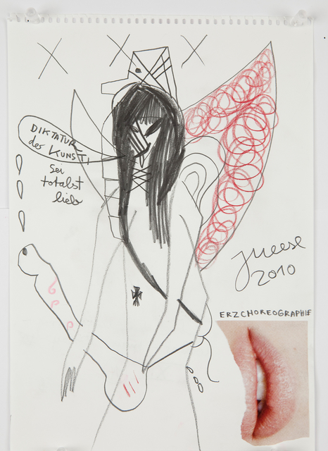 ", '""The strawberry-wicker-man-baby""-Serie 14,' 2010, Galerie Krinzinger"