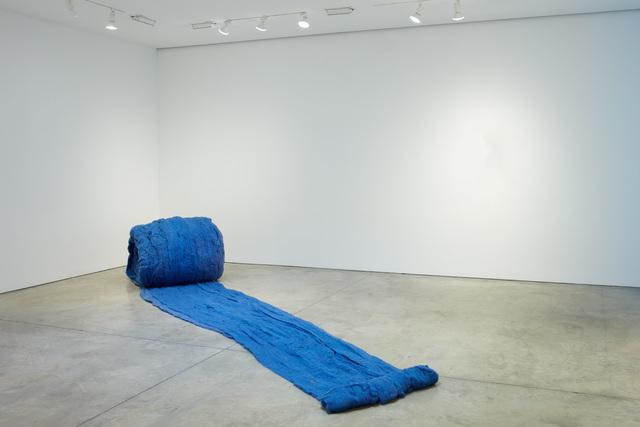 , 'Caracol Azul (Blue Snail),' 2017, Lehmann Maupin