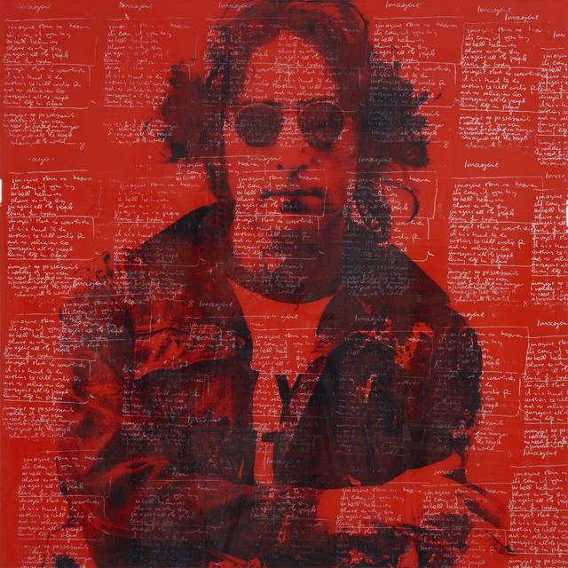 """, '""""Lennon"""",' 2019, Julie Zener Gallery"""