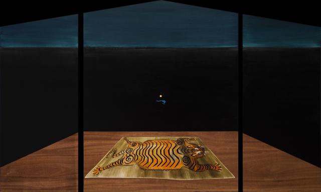 , 'Alfombra de tigre,' 2016, Machete