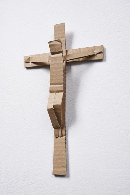 , 'Crucifix,' 2015, Antonella Villanova