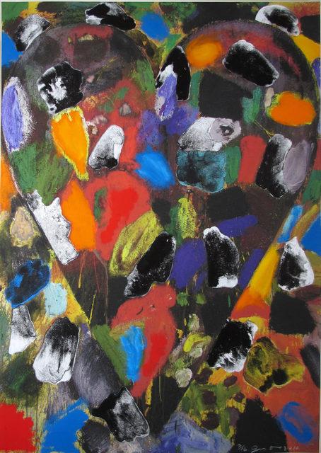 , 'Ball-Grained Heart,' 2010, Hamilton-Selway Fine Art