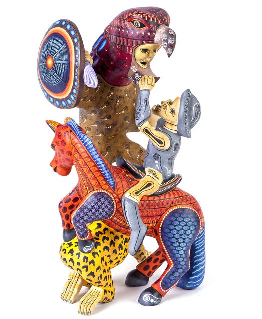 , 'Guerrero Woodcarving Mexican Folk Art Sculpture,' 2017, Cactus Fine Art