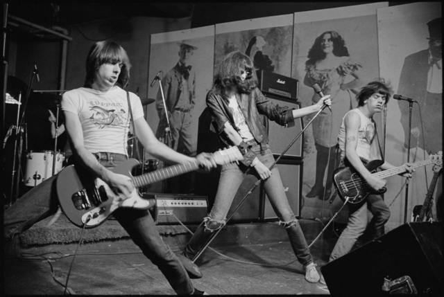 , 'The Ramones performing at CBGB's New York City,' 1976, TMPG