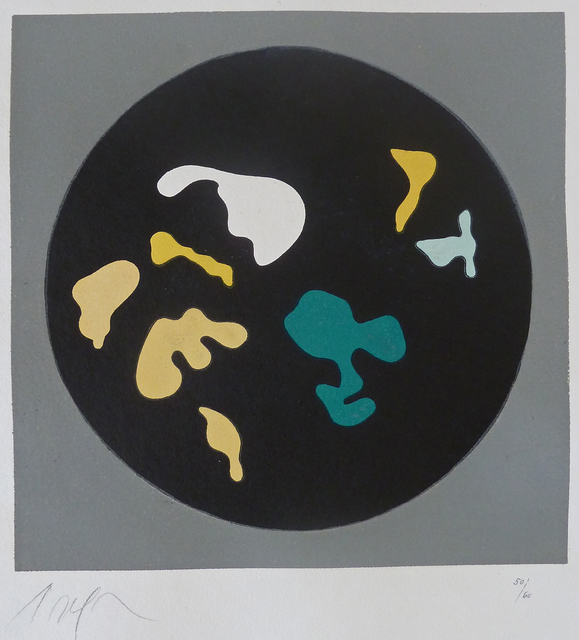 , 'Untitled, from Le Soleil Recerclé, (Black circle small shapes),' 1962, Gilden's Art Gallery