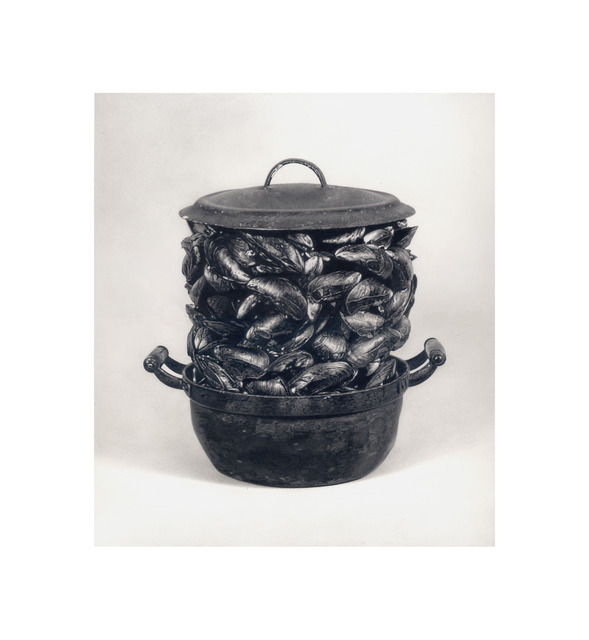 """, 'Formalizing their concept: Marcel Broodthaers' """"Casserole and Closed Mussels"""", 1964,' 2013, Josée Bienvenu"""