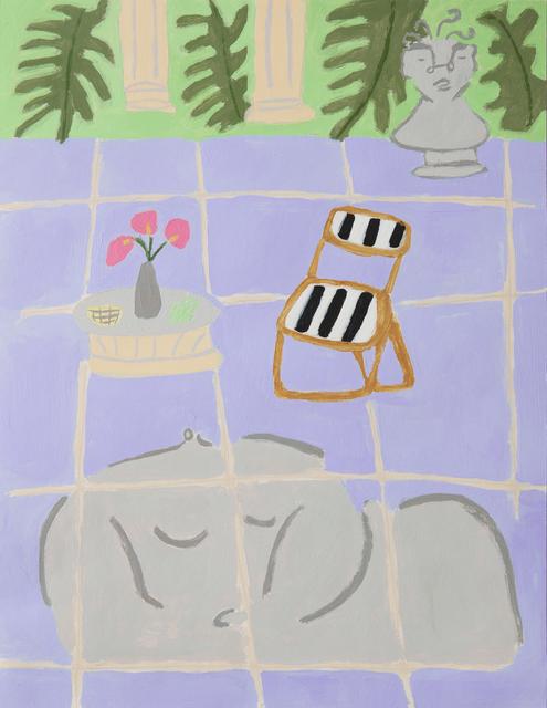 , 'Patio,' 2018, Ochi Projects