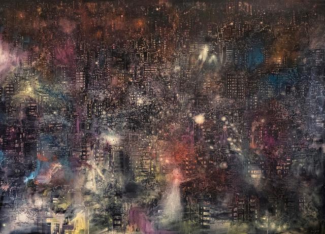 , 'Asphyxiated City (Night),' 2017, Artspace Hamra