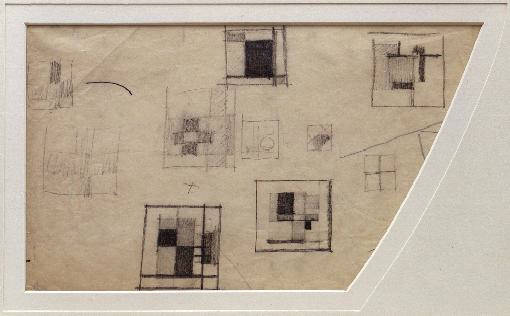 , 'Studies for a composition (D29),' c. 1924-26, Annely Juda Fine Art