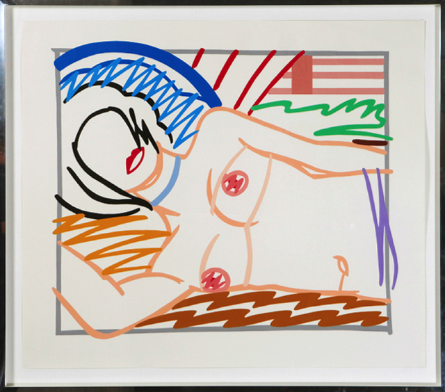 , 'Monica in half slip,' 1986, Galerie Kronsbein