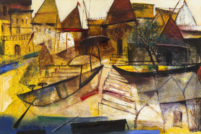 , 'Odyssey of Varanasi,' 2016, Gallery Sumukha