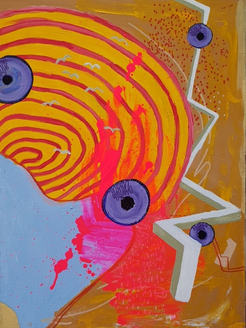 , 'Suspended Instincts 2,' 2018, Di Legno Gallery