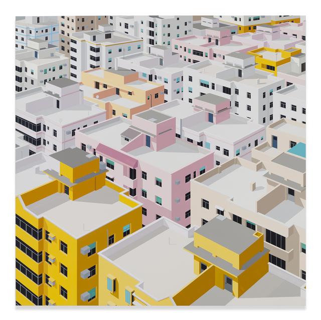 Daniel Rich, 'Shenzhen', 2018, Painting, Acrylic on dibond, Miles McEnery Gallery