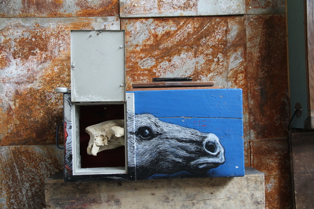 , 'Newcastle Horse,' 2014, StolenSpace Gallery
