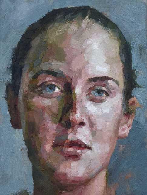 , 'Blue Eyed Woman ,' 2018, Reuben Colley Fine Art